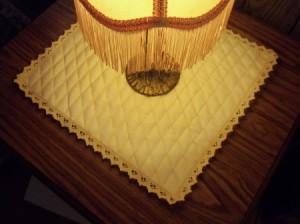 Diamond Table Scarf