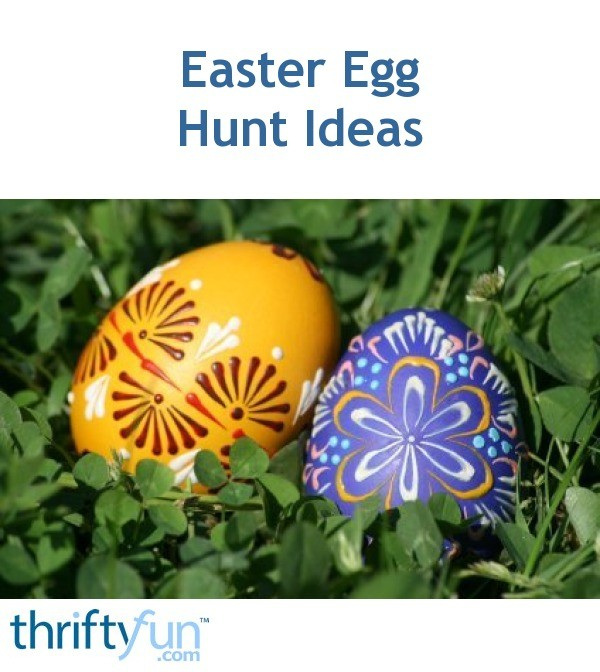 Easter egg hunt ideas thriftyfun negle Choice Image