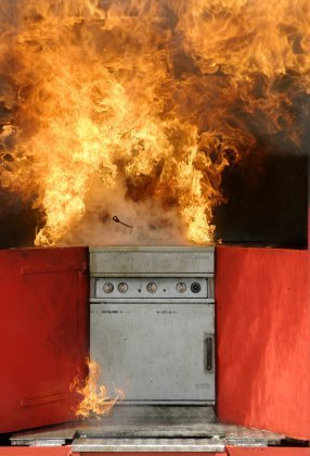 Preventing Kitchen Fires | ThriftyFun