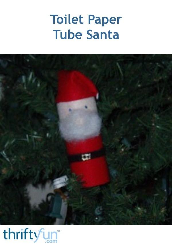 Making A Toilet Paper Tube Santa Claus Thriftyfun