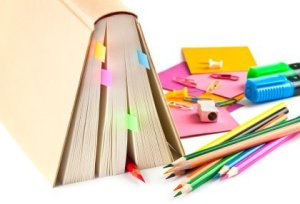 Colorful Adhesive Bookmarks