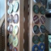 Spice rack for Keurig K-cups