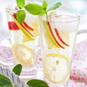 Apple, Lemon and Mint Water
