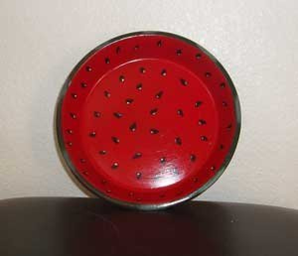 Saucer front.