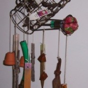 Recycled Wind Chimes from old garden tools.