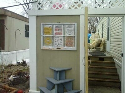 Recycled Window Craft