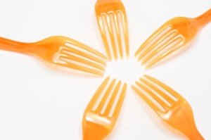 Circle of Plastic Forks