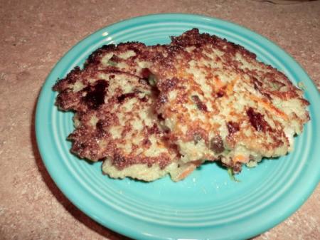 Quinoa Burgers - Quinoa Burgers on a plate.