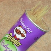 Spaghetti in Pringles Can