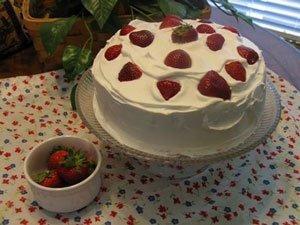 Strawberry Soda Pop Cake