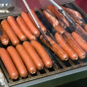 Hot Dogs on BBQ