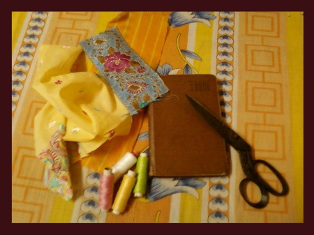 Handcrafted Personal Diary Supplies