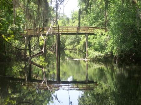 Wooden Bridge at Hillsborough River State Park (near Tampa, FL)