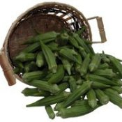 Basket of Okra