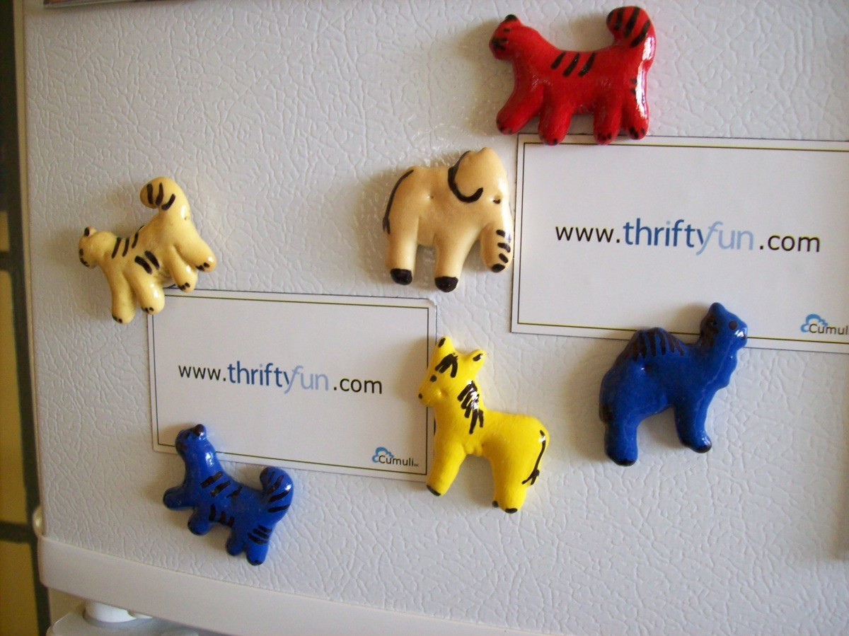 Homemade Refrigerator Magnets   ThriftyFun