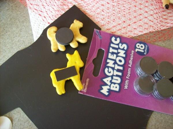 Back of Animal Cracker Magnets