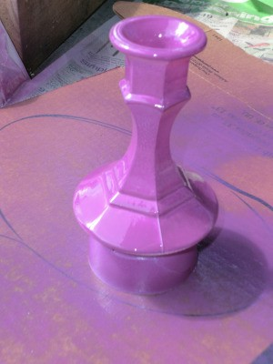 Painting Candle Stick