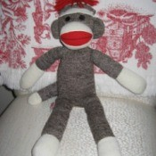 Socks the Sock Monkey