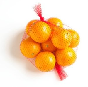 Oranges in Mesh Bag