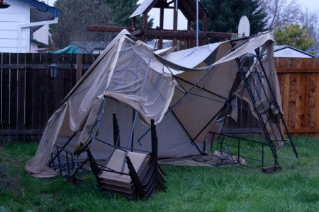 Put Away Summer Structures In The Fall