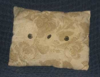 Nylon stuffed pillow