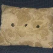 Nylon stuffed pillow