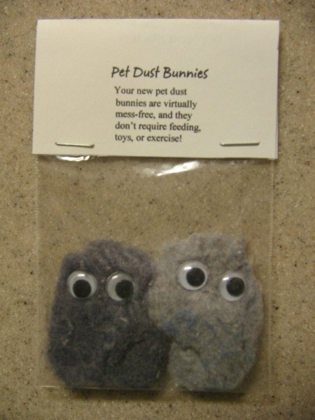 pet dust bunnies craft