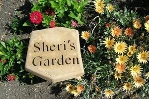 Sheri's Garden Stone