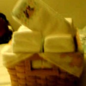 Diapers in a Basket