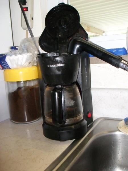 Filling Coffee Maker