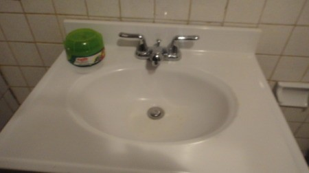 Cleaning The Bathroom With Turtle Wax Thriftyfun