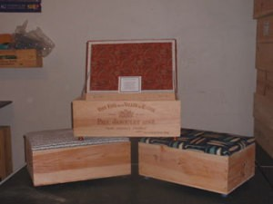 Wine Crate Treasure Boxes