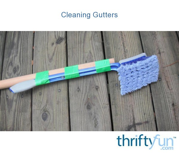 Keeping Gutters And Vinyl Siding Clean Thriftyfun