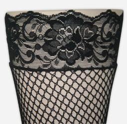 Lace Stocking Headband
