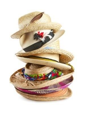 Decorating Straw Hats