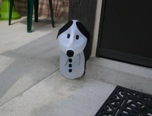 Milk Jug Snoopy
