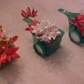 Wheelbarrow Flower Decoration
