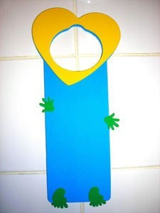 Aiden's Mother's Day Door Hanger