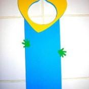 Aiden's Mother's Day Door Hanger