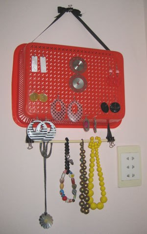Recycled Jewelry Hanger