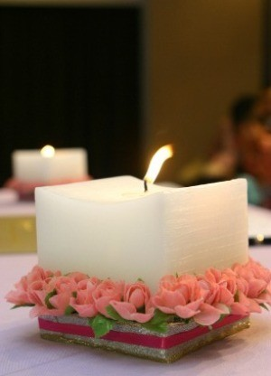 Saving o Wedding Candles