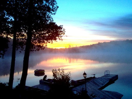 Sunrise in Heyden, Ont