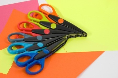 Craft Scissors and Paper