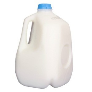 Milk Jug On White Background