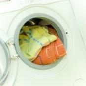 Laundry in Washing Machine