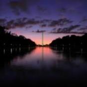 Washington Monument at Sunrise (Washington DC)