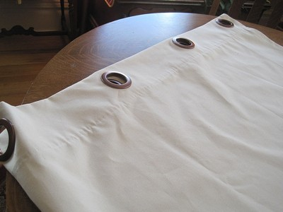 Making Curtains With Grommets Thriftyfun