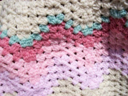 Granny Ripple Baby Crochet Afghan Pattern