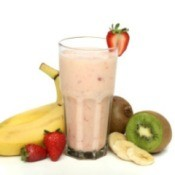 Yogurt Smoothie With Fruit