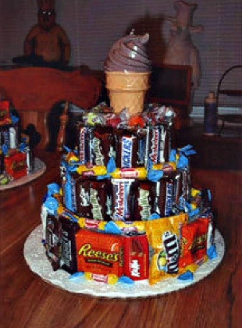 Brilliant Birthday Candy Cake Thriftyfun Funny Birthday Cards Online Bapapcheapnameinfo